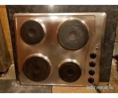 Plita electrica inox Whirlpool 220 - 380v / 5.5 kW / AKM 330 IX