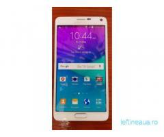 Samsung Galaxy Note 4 demo, poate fi folosit ca si navigatie, tableta