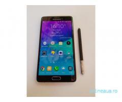 Samsung Galaxy Note 4 negru, ca nou / negru