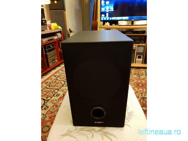 Subwoofer pasiv CAT / 80W RMS / 8 ohm / 28 - 150Hz / Made in Germany - 1/6