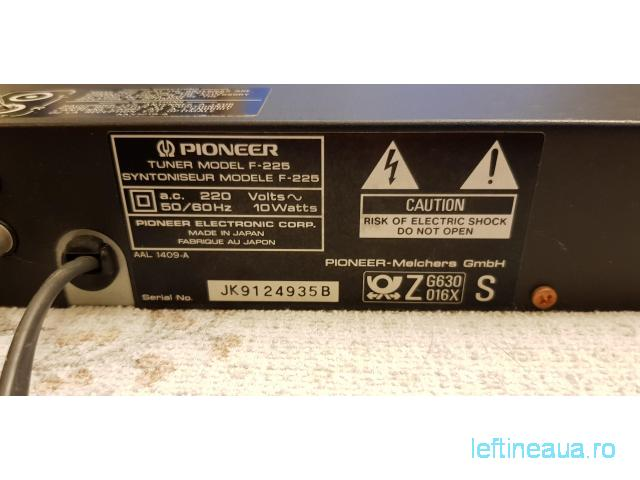 Tuner Pioneer F-225 ca nou / Made in Japan - 6/6
